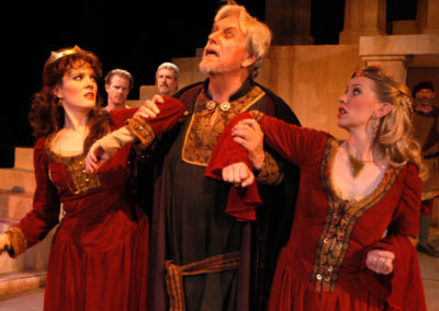 King Lear, Southwest Shakespeare Company, photo: Laura Durant