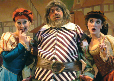 Merry Wives of Windsor, Southwest Shakespeare Company, photo: Laura Durant